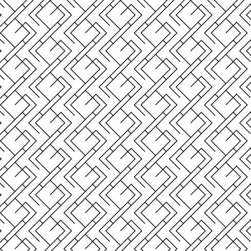 Minimal geometric pattern