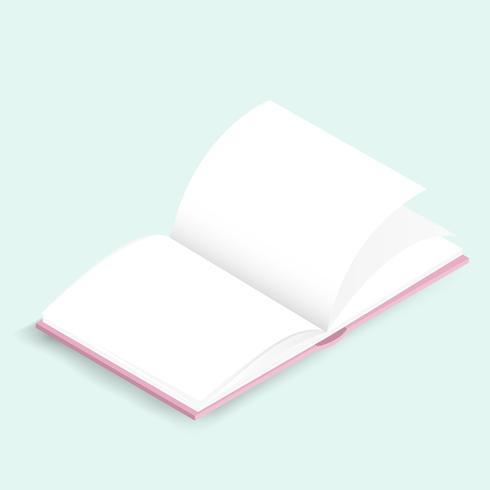 Vetorial, de, diário, caderno, ícone