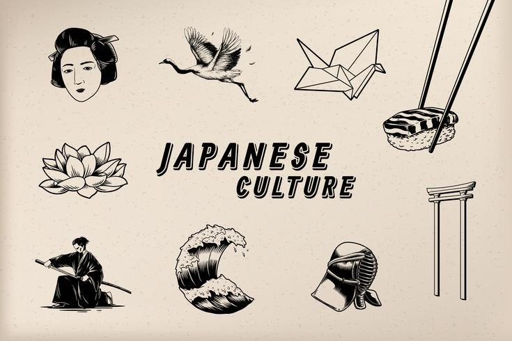 Berömda japanska kulturella ikoner