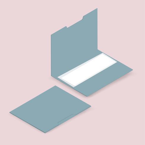 Vektorbild av mapp