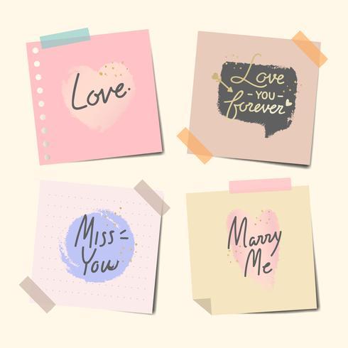 Note registrate di messaggi dolci
