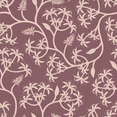 Nature plant branch wallpaper design