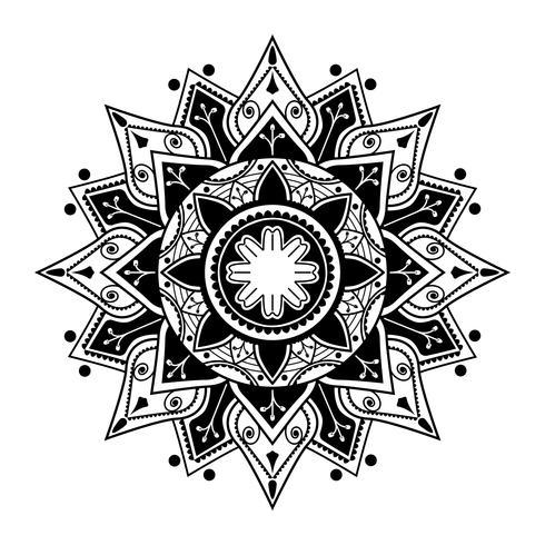 Padrão de mandala espiritual
