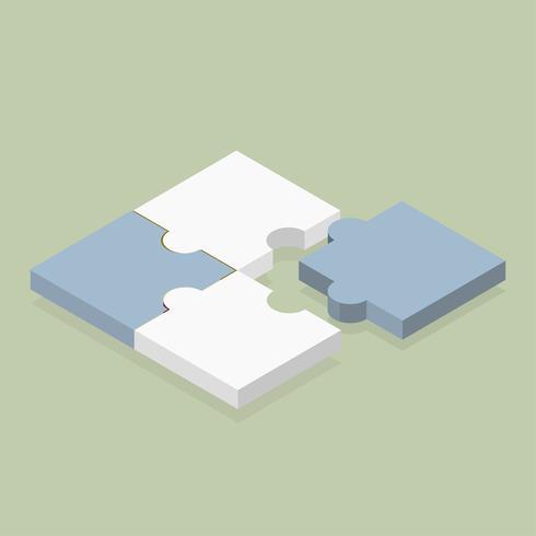 Vector pictogram van puzzel