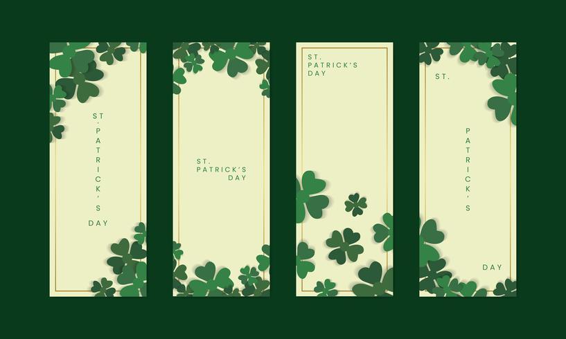 Banner di Saint Patricks day
