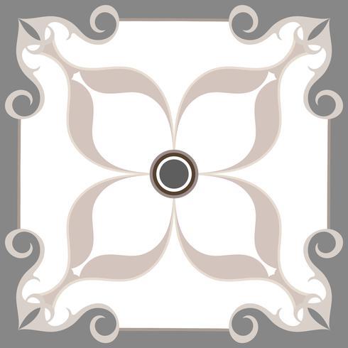 Patrón de azulejo gris