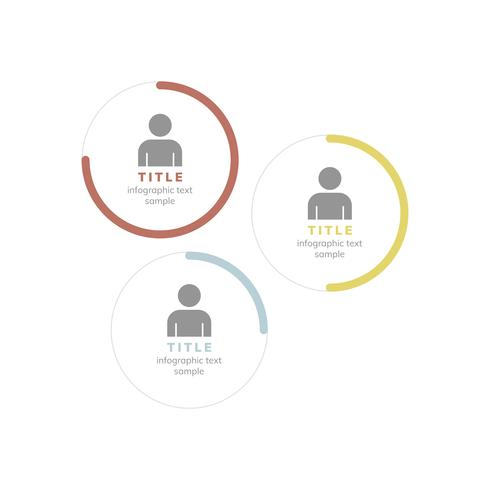 Vetor corporativo de gráfico de gerente de desempenho