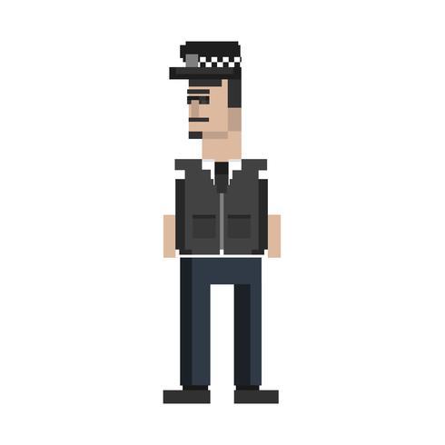 Pixel-Illustration der Besetzung