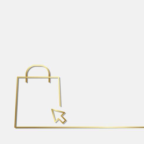 Online einkaufen Symbol