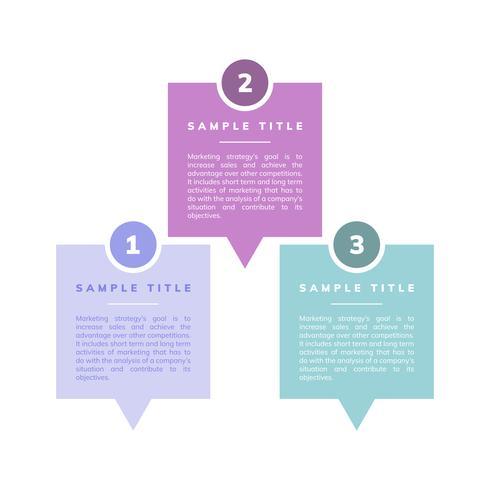 Marketingstrategie en doelen vector