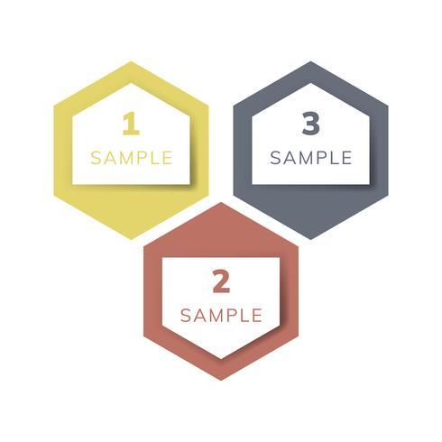 Infographic Vektor des Beispieldiagrammgeschäfts