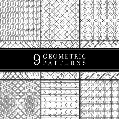 Minimal geometrisk mönsteruppsamling
