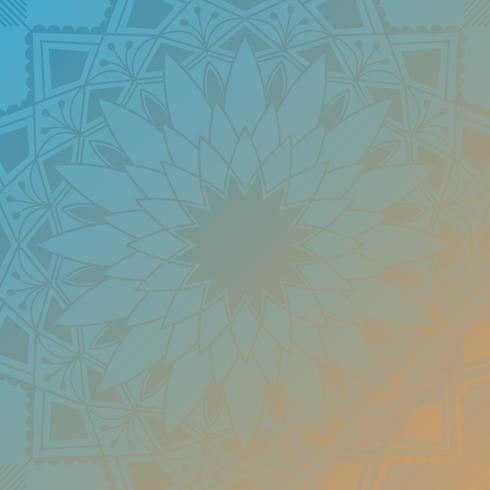 Indisk mandala bakgrund