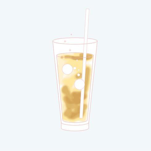 Vector de una bebida