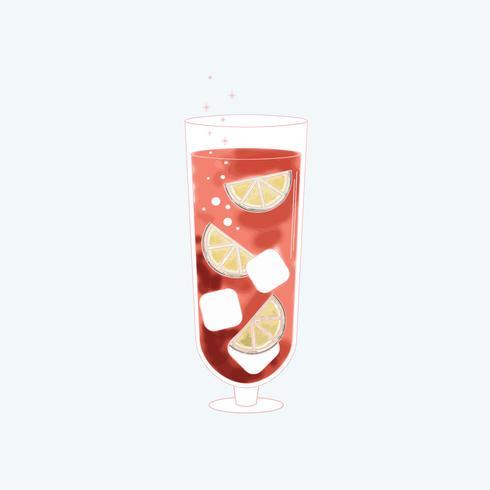 Vector van een drank