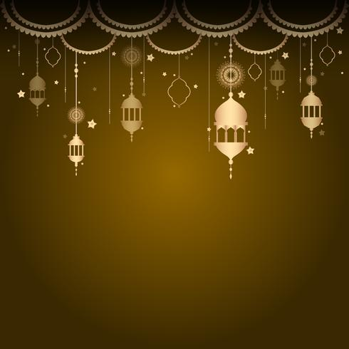 Eid-kaart illustratie
