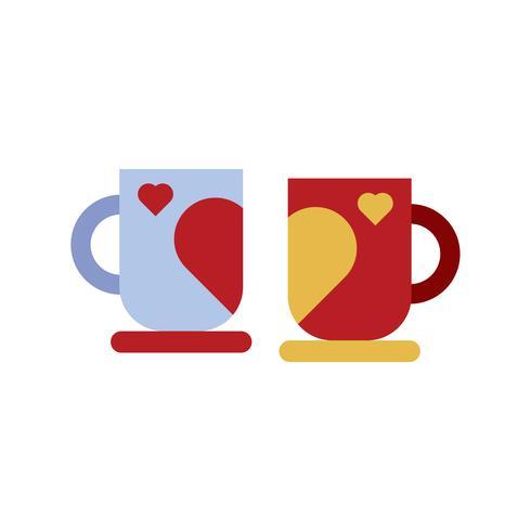 Couple mug cup