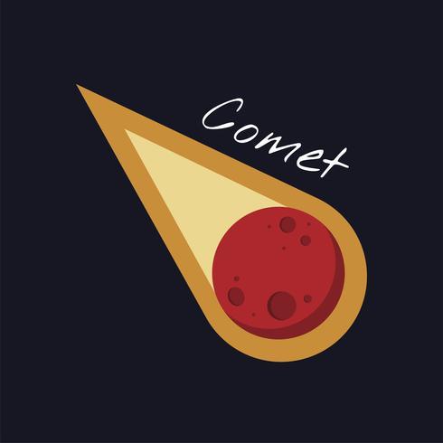 Un vecteur de comète