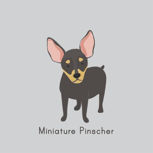 Jolie illustration d'un chien chihuahua