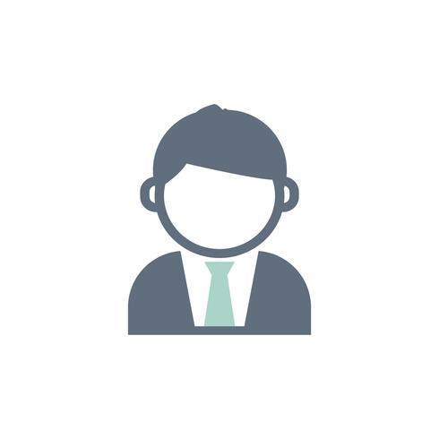 Illustratie van zakenman