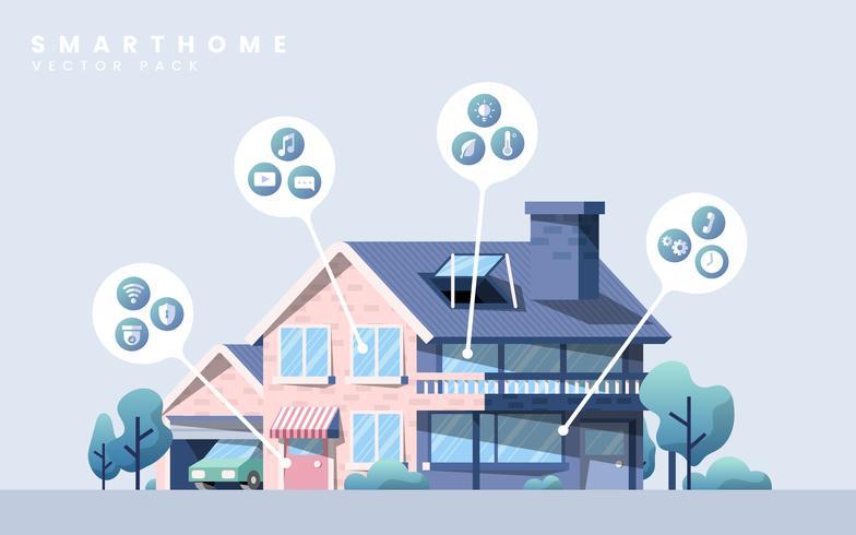Zuhause mit intelligenter Technologie