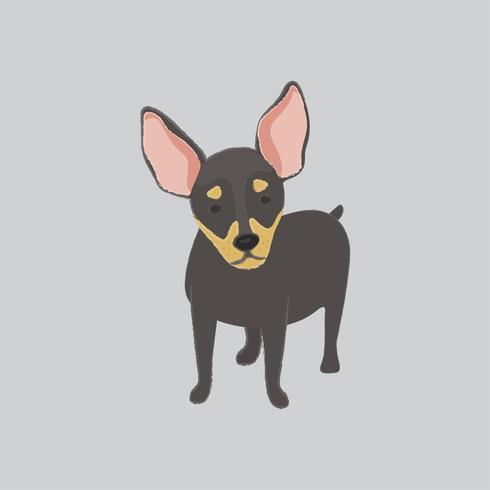 Leuke illustratie van een chihuahuahond
