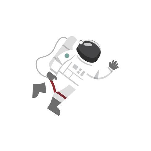 Vetor de astronauta