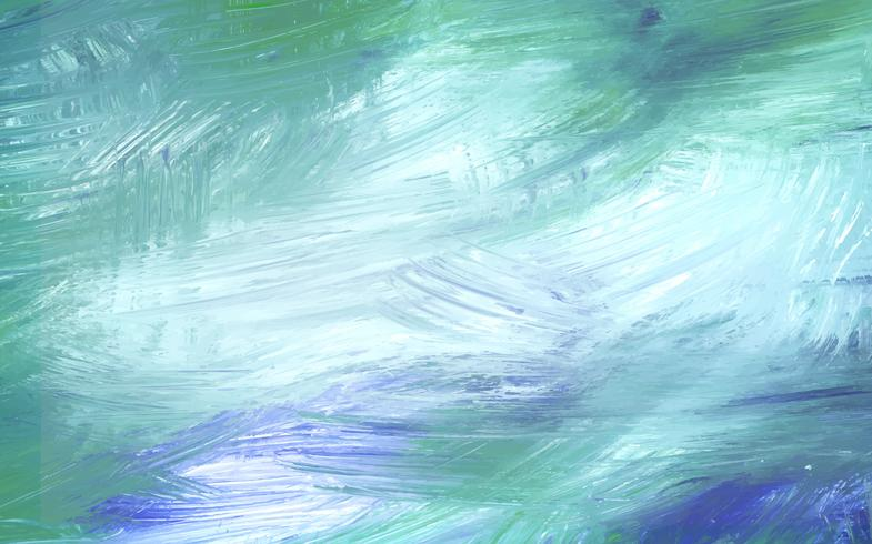 Lienzo pintado de verde
