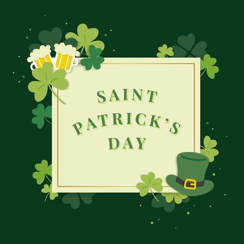 Saint Patricks Day-kaart