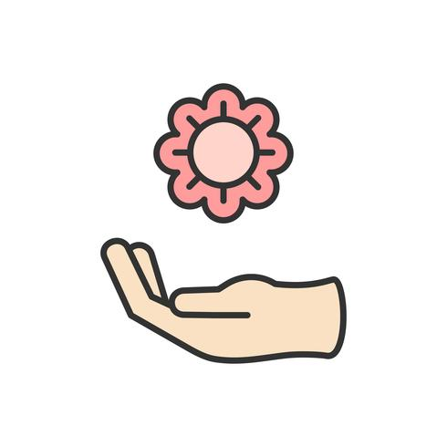 Illustration des icônes de soutien aux dons