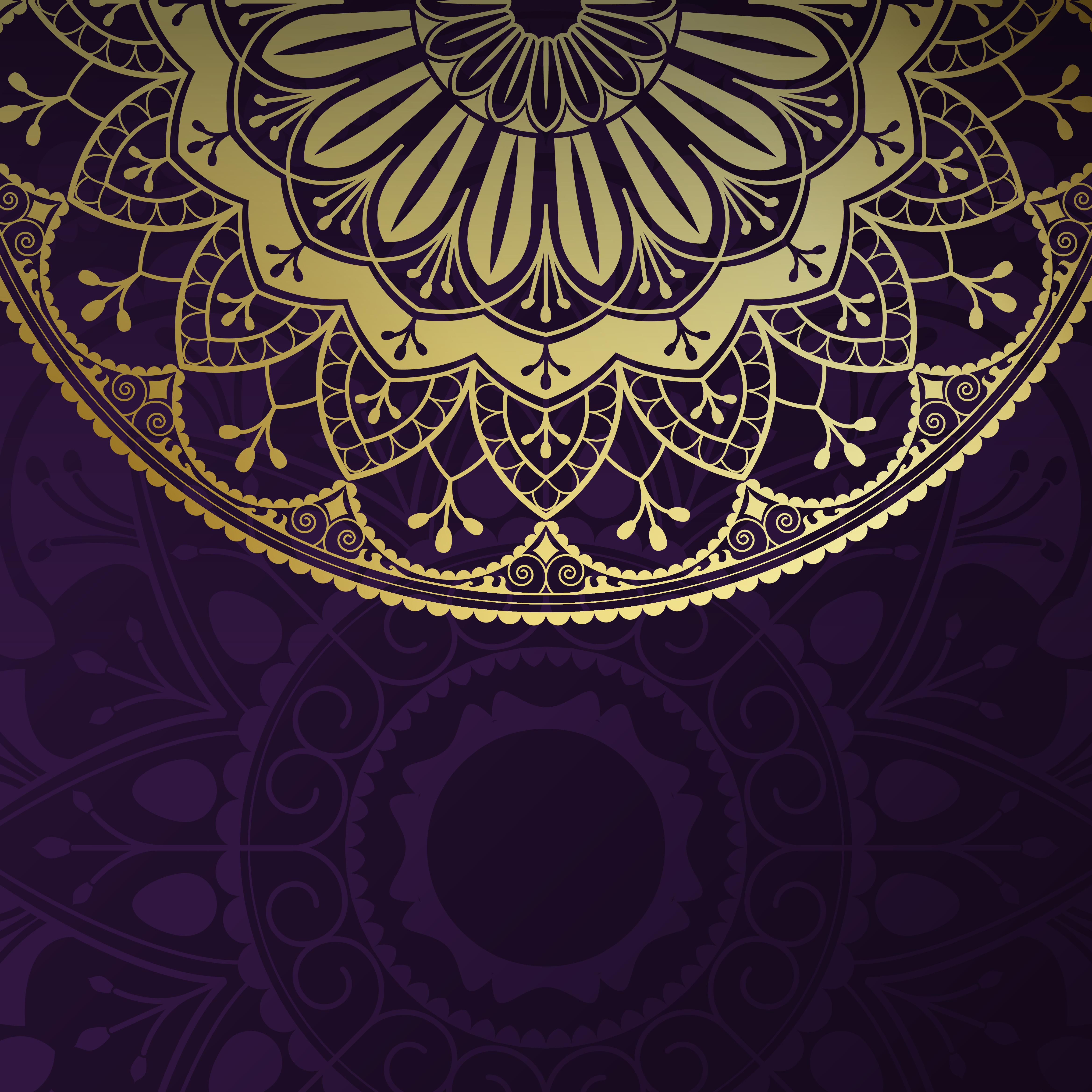 Indian Mandala Background Download Free Vector Art