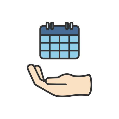Illustration av kalenderikonen