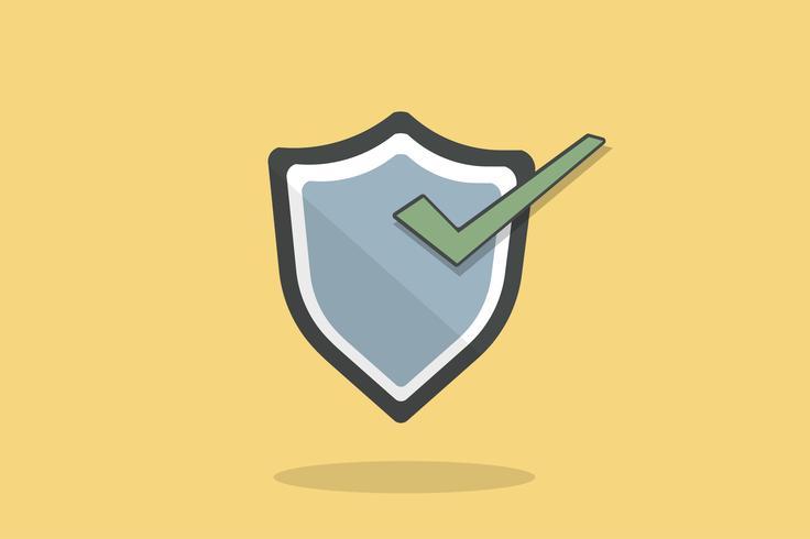 Illustration de l'icône du bouclier