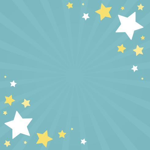 Stjärnor bakgrunds illustration