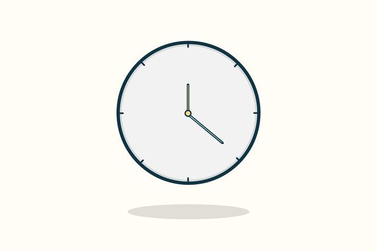 Illustration de l'icône de l'horloge