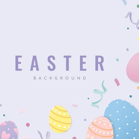 Happy Easter card design