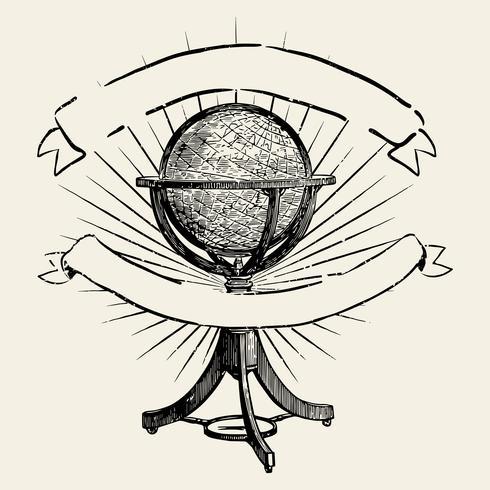 Viajar a ilustração do mundo
