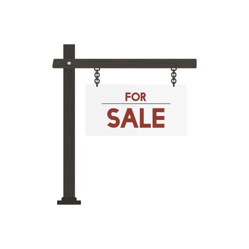 Illustration für für Verkaufszeichenvektor