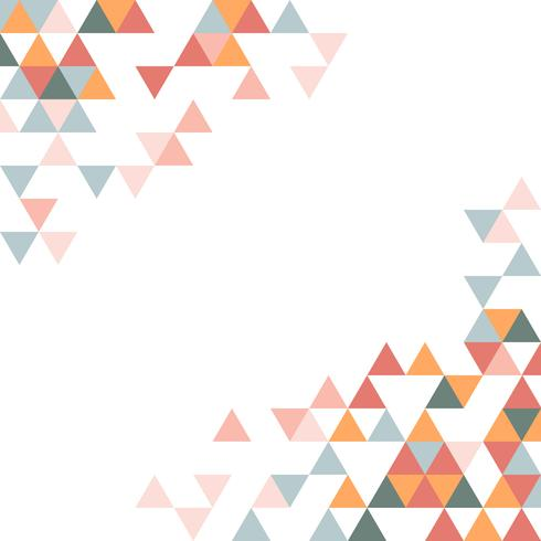 Färgglada geometriska triangeln mönstret