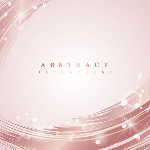 Pink wave abstract background illustration