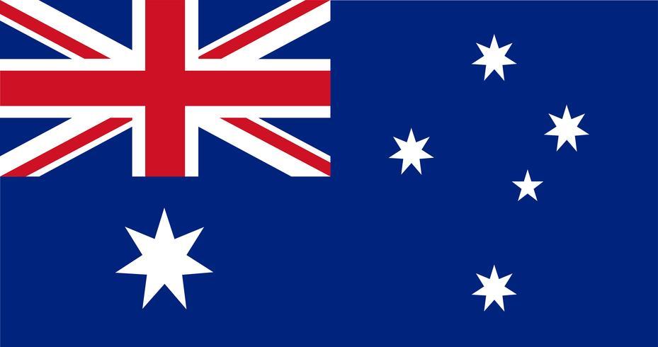 Ilustración de la bandera de Australia