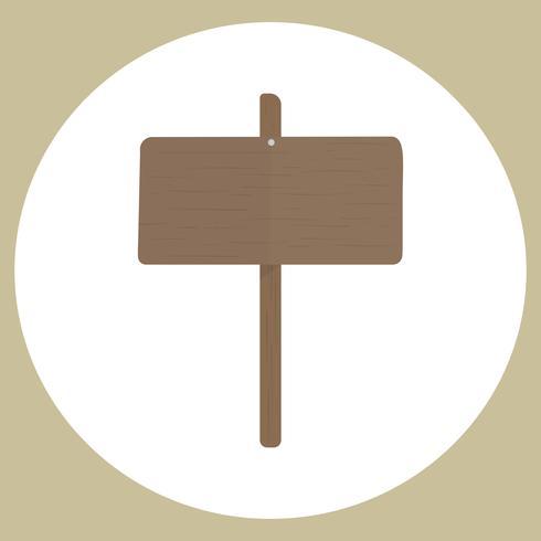 Illustrazione del vettore segno bianco