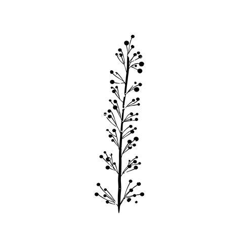 Illustration av växt
