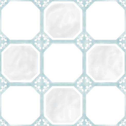 Abbildung des strukturierten Musters der Fliesen