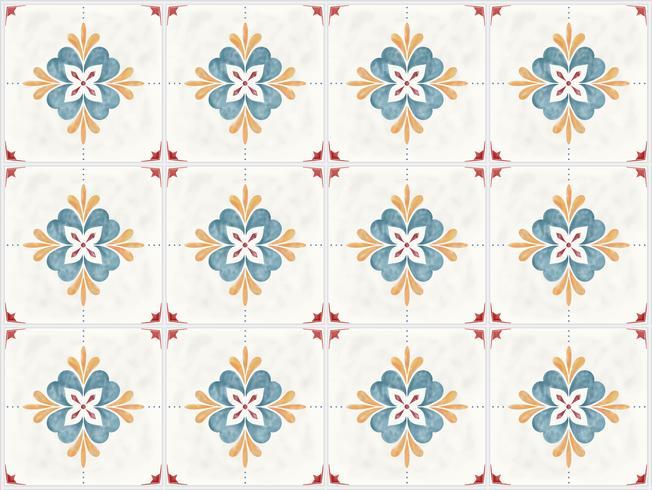 Illustration av kakel texturerat mönster