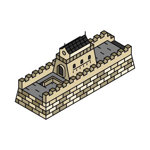 Abbildung der Chinesischen Mauer