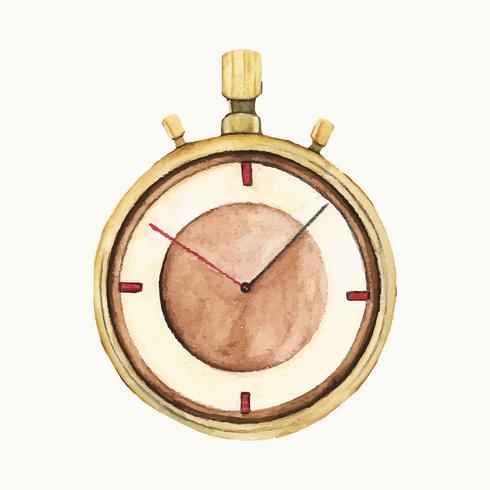 Ilustración de un cronómetro