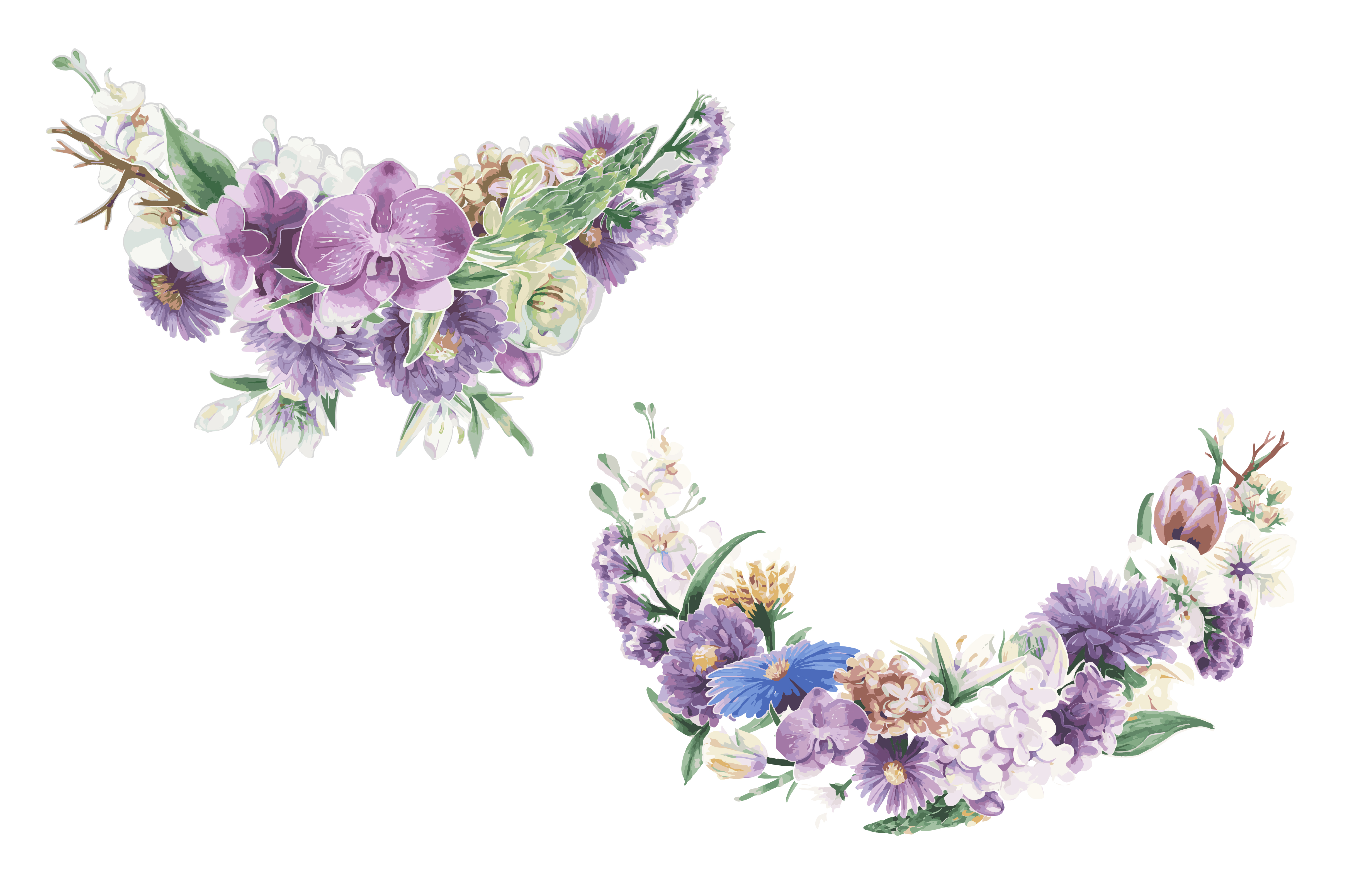 Floral Ornament Vector Free: Download Free Vector Art, Stock