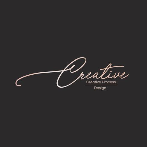 Logotipo do processo criativo