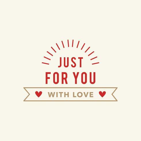 Illustraties van Valentine's items